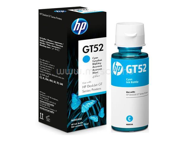HP GT52 Tintatartály (cián)