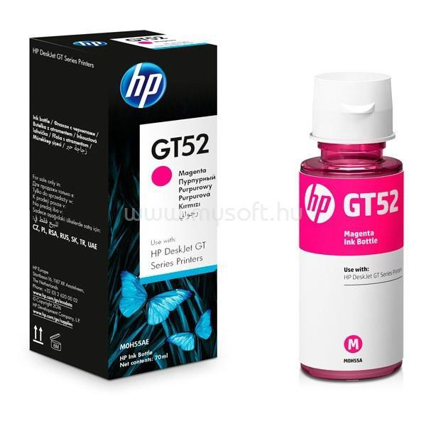 HP GT52 Tintatartály (bíbor)