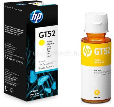 HP GT52 Tintatartály (sárga)