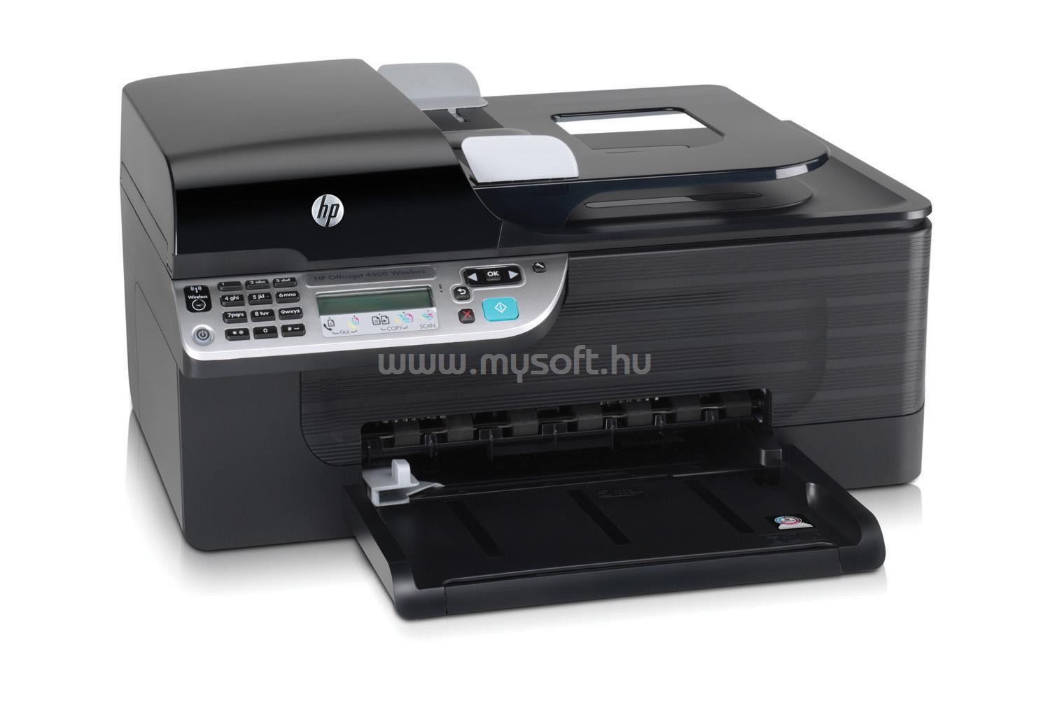 download printer driver hp officejet 4500 wireless