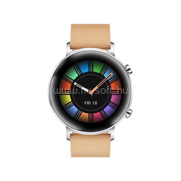 HUAWEI Watch GT 2 Okosóra, 42 mm, Bézs 55024475 large
