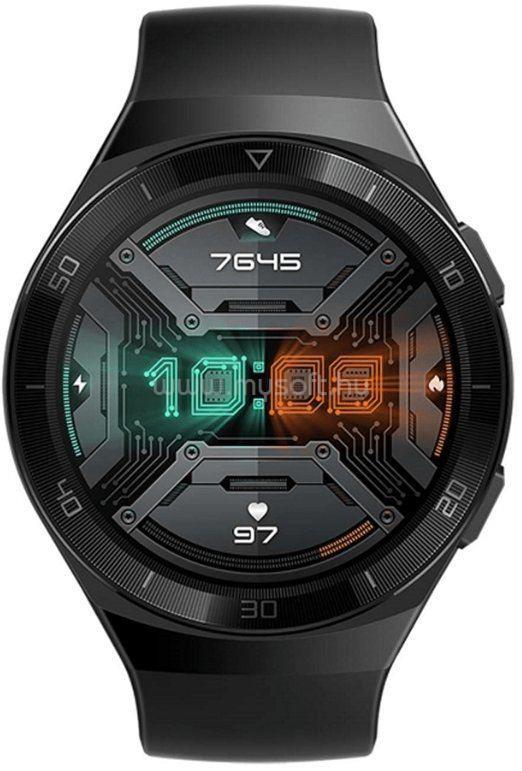 HUAWEI Watch GT 2e okosóra fekete sportszíj