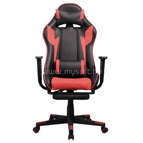 IRIS GCG204BR_FT Gamer szék (fekete/piros)