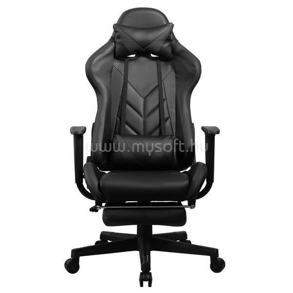 IRIS GCH200BB Gamer szék (fekete/fekete)