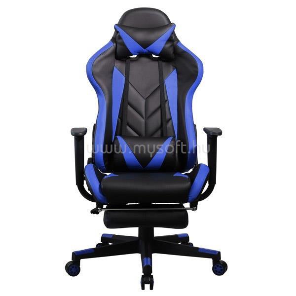 IRIS GCH200BK Gamer szék (fekete/kék)
