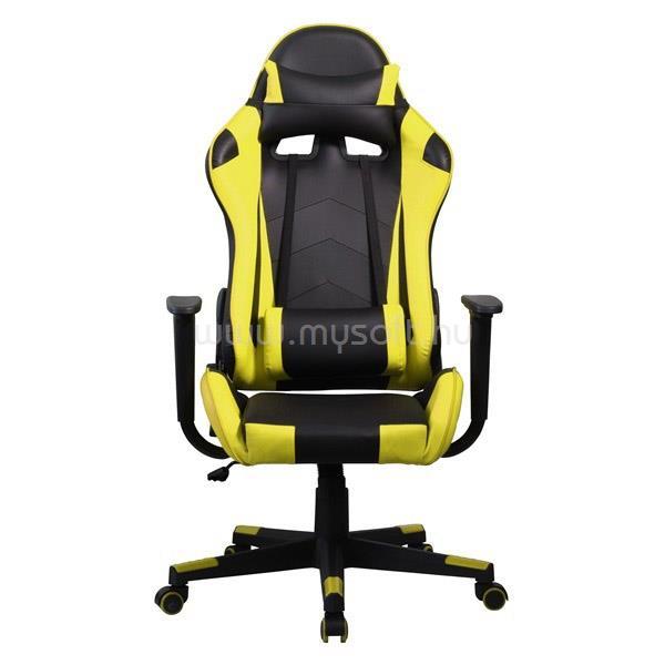 IRIS GCH201BC Gamer szék (fekete/sárga)