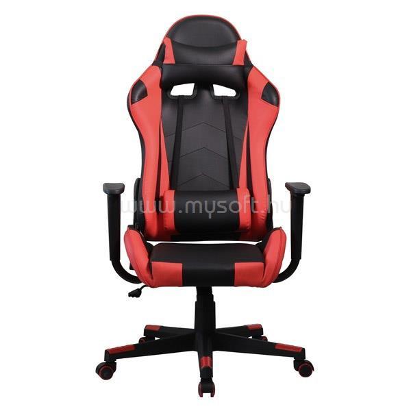 IRIS GCH201BR Gamer szék (fekete/piros)