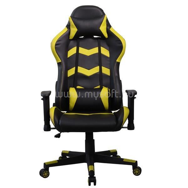 IRIS GCH203BC Gamer szék (fekete/sárga)