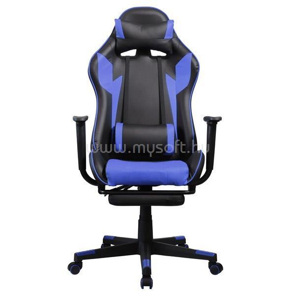 IRIS GCH204BK_FT Gamer szék (fekete/kék)