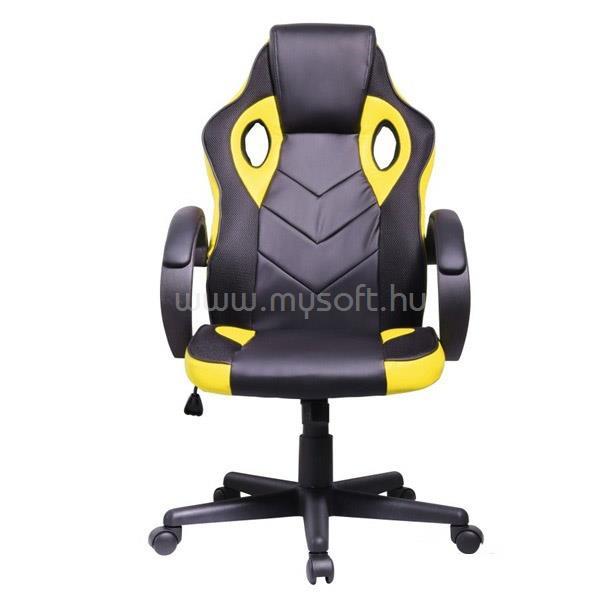 IRIS GCH205BC Gamer szék (fekete/sárga)