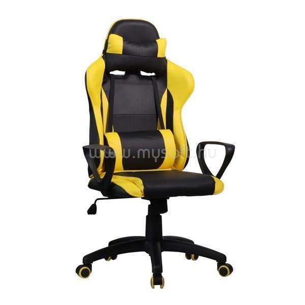 IRIS GCH207BC Gyerek Gamer szék (fekete/sárga)
