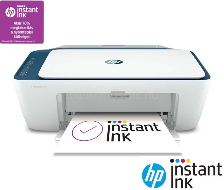 HP DeskJet 2721 Multifunkciós Nyomtató