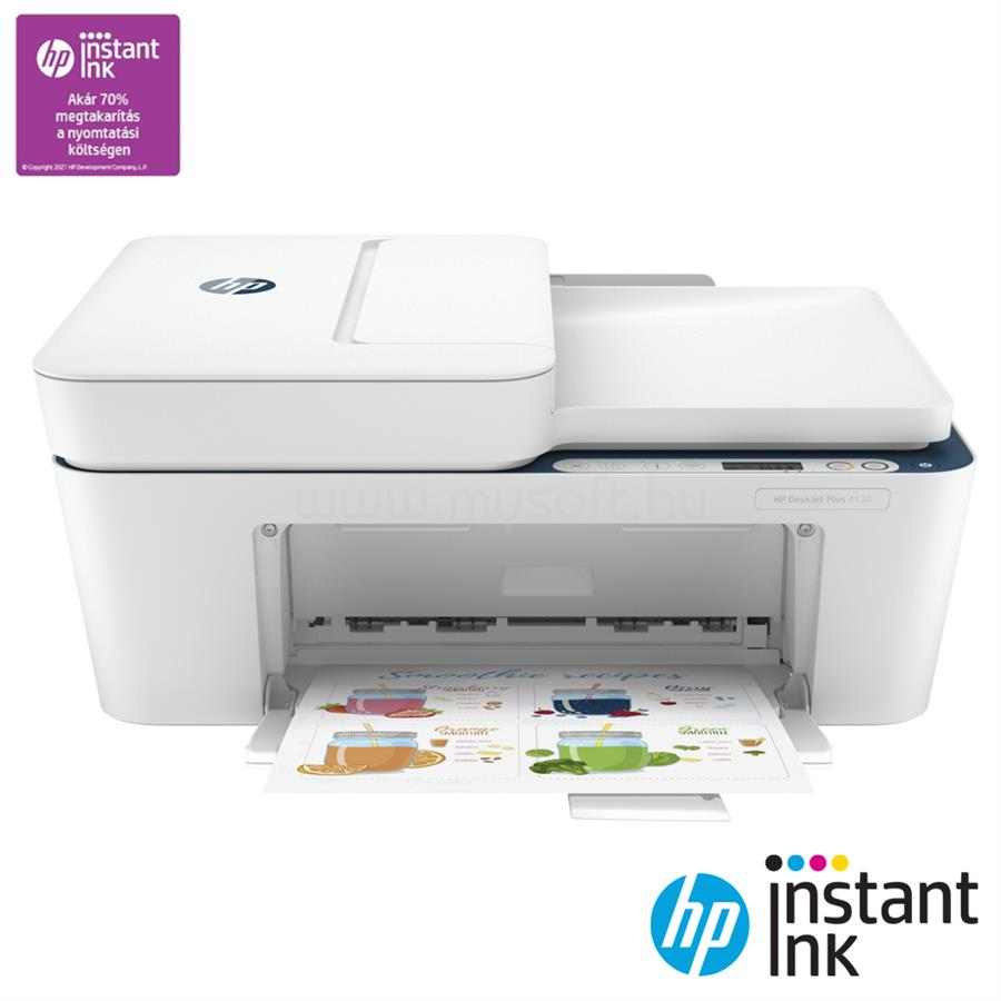 HP DeskJet Plus 4130 Multifunkciós Nyomtató