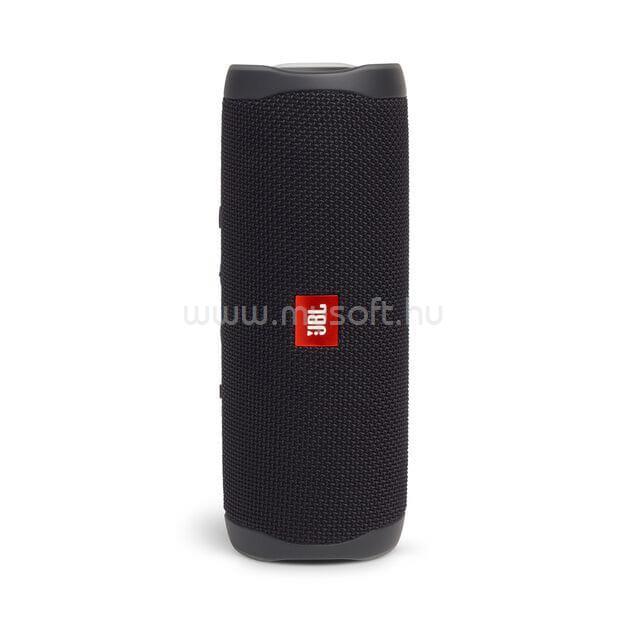 JBL Flip 5 Bluetooth Hordozható Hangszóró (fekete)