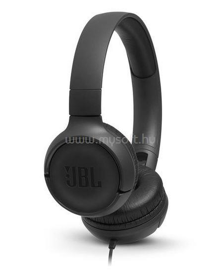 JBL TUNE 500  fekete fejhallgató