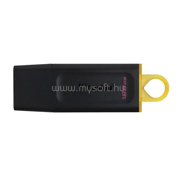 KINGSTON Pendrive 128GB, DT Exodia USB 3.2 Gen 1 (fekete-sárga)