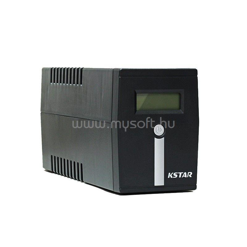 KSTAR UPS 800VA Schuko Micropower Vonali-interaktív