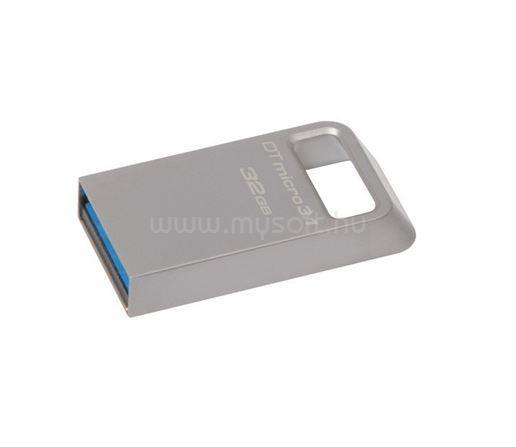 KINGSTON DataTraveler Micro Pendrive 32GB USB3.1 (ezüst)
