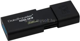 Kingston DataTraveler 100 G3 Pendrive 32GB USB3.0 (fekete), DT100G3/32GB