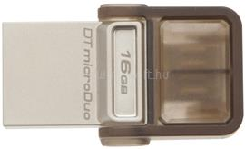 Kingston DataTraveler microDuo Pendrive 16GB USB2.0 (barna), DTDUO/16GB