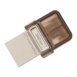 Kingston DataTraveler microDuo Pendrive 32GB USB2.0 (barna), DTDUO/32GB