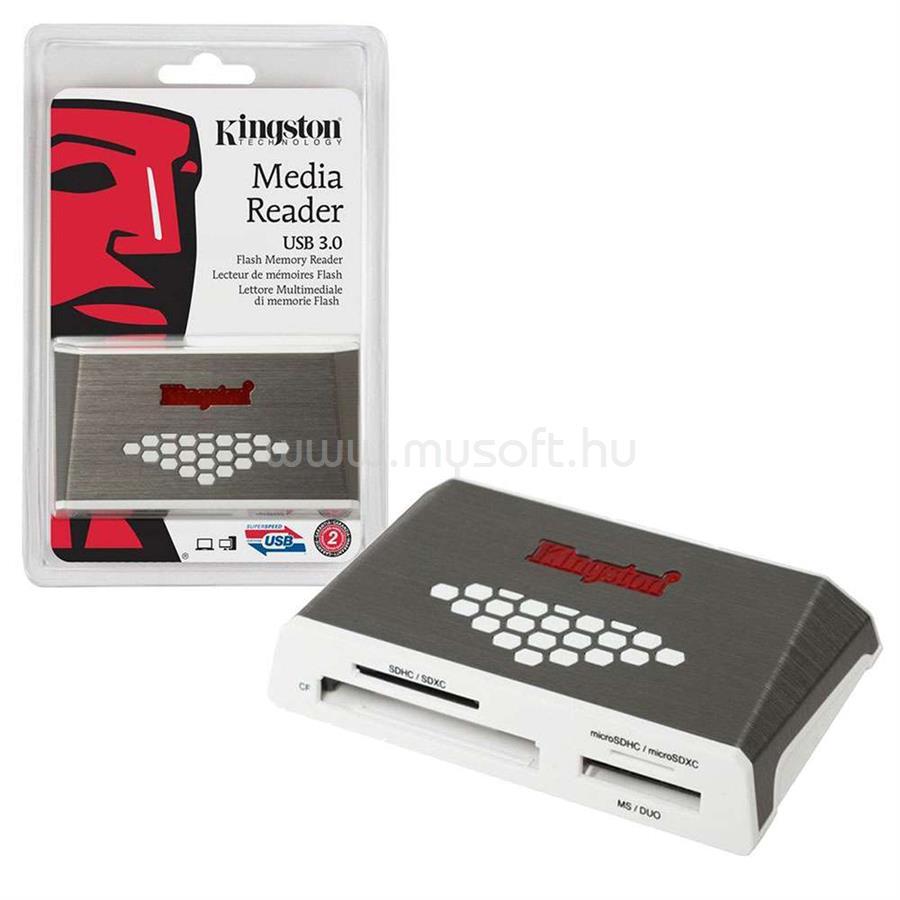 KINGSTON FCR-HS4 USB 3.0 kártyaolvasó