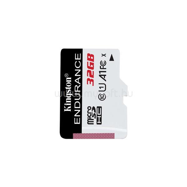 KINGSTON High Endurance MicroSDHC memóriakártya 32GB, Class10, UHS-I