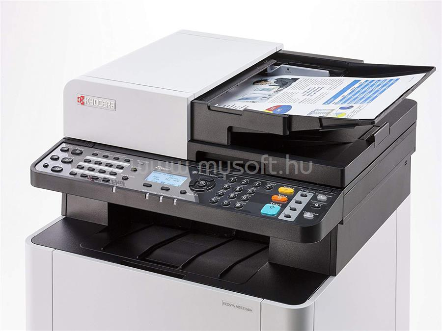 KYOCERA ECOSYS M5521cdw Color Multifunction Printer 1102R93NL0 large