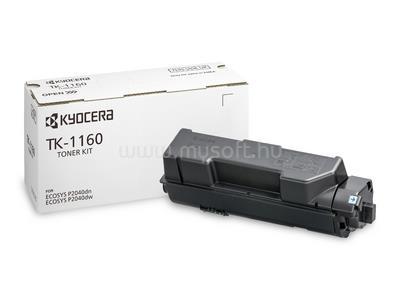 KYOCERA Toner TK-1160 Fekete 7 200 oldal