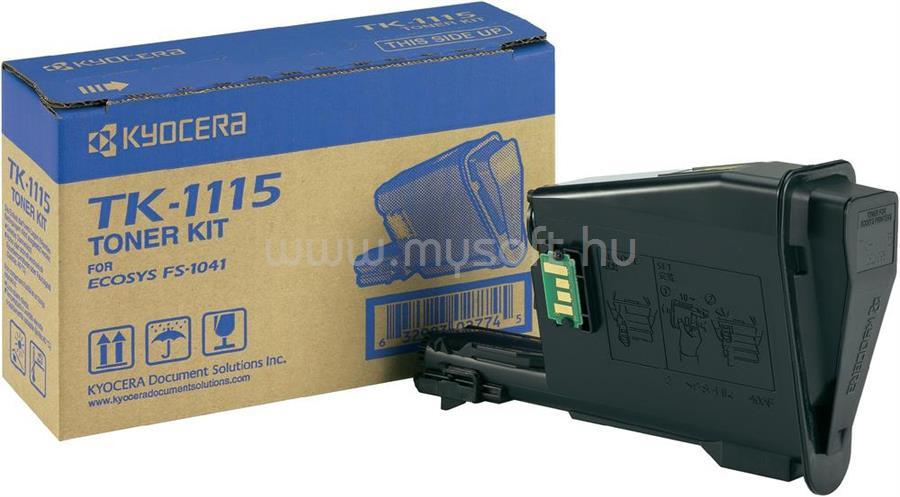 KYOCERA TK-1115 Toner Black FS-1041/1220MFP/1320MFP (1 600 oldal)