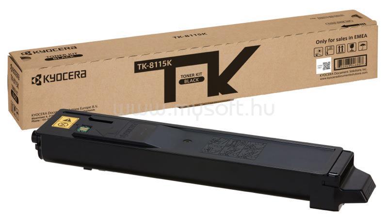 KYOCERA TK-8115K Festékkazetta (Fekete)