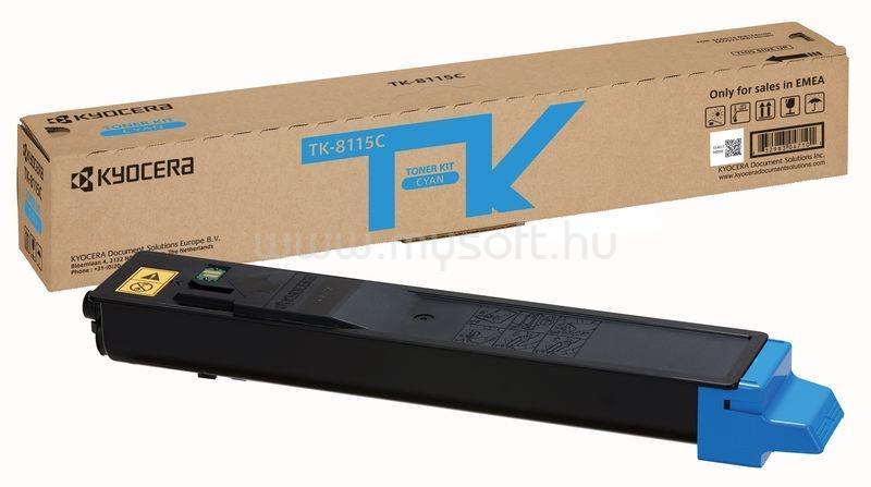 KYOCERA TK-8115C Festékkazetta (Cián)