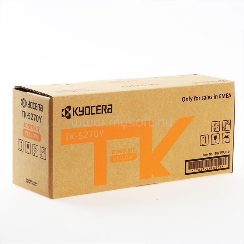 KYOCERA TK-5270 Toner (sárga)
