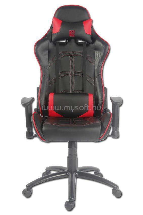 LC POWER LC-GC-1 Fekete/Piros Gaming szék