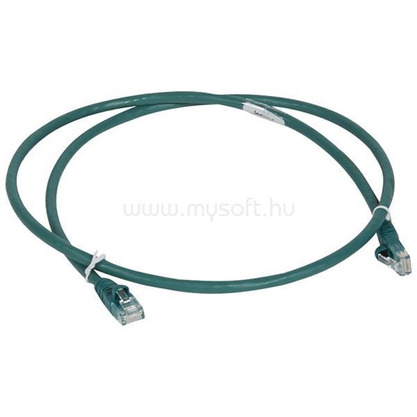 LEGRAND Cat6 (U/UTP) zöld 1 méter LCS3 árnyékolatlan patch kábel