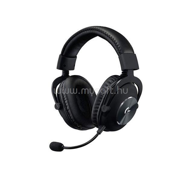 LOGITECH G PRO X USB fekete vezetékes gamer headset