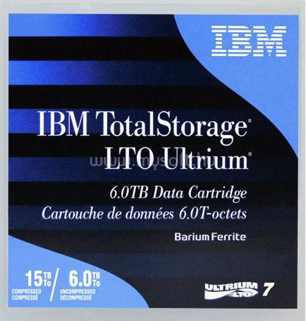 LENOVO IBM Adatkazetta Ultrium 6TB/15TB LTO7