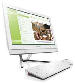 Lenovo IdeaCentre C40-30 All-in-One PC (fehér), F0B400SGHV