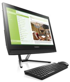 Lenovo IdeaCentre C40-30 All-in-One PC Touch (fekete), F0B400J4HV_12GBS250SSD_S