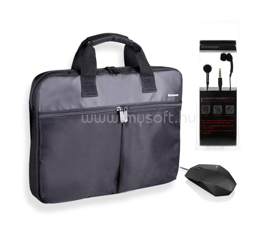 Lenovo T1050 táska + M300 egér + P165 fülhallgató (N88015244 ... 5c5cb4a0e2