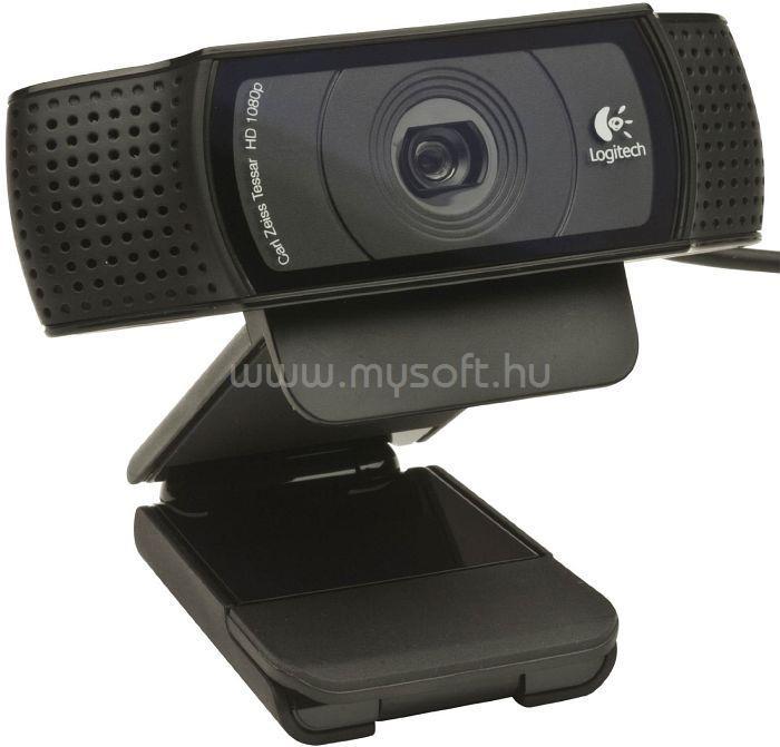 LOGITECH C920 1080p mikrofonos fekete webkamera 960-001055 large