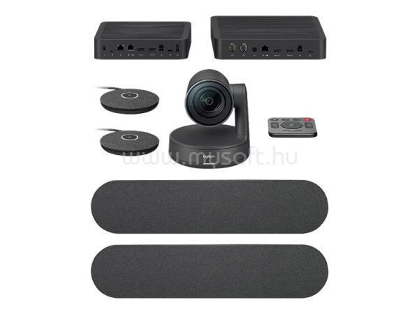 LOGITECH RALLY PLUS webcamera rendszer