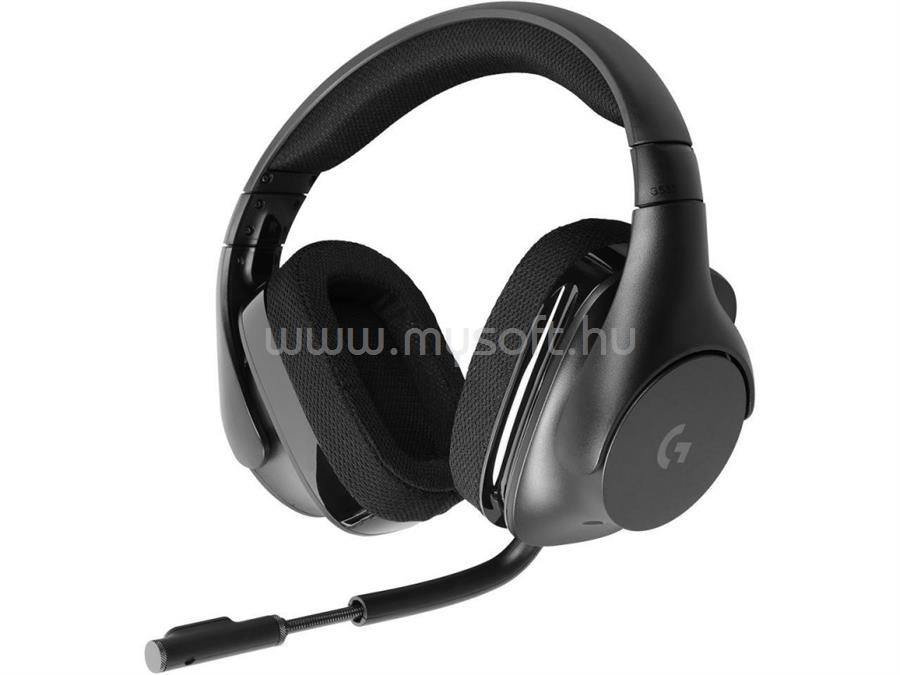 LOGITECH G533 vezetéknélküli gamer headset