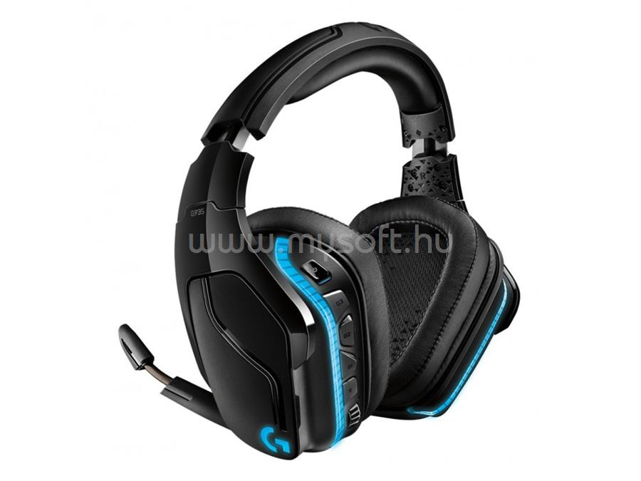 LOGITECH G935 7.1 vezetéknélküli gamer headset