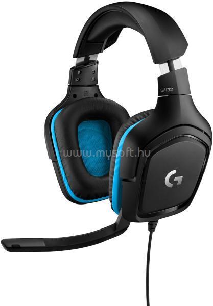 LOGITECH G432 7.1 USB gamer headset