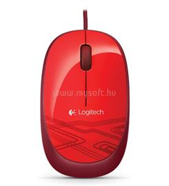 Logitech Mouse M105 - Red, 910-002942