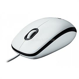 Logitech OEM Optical Mouse B100 - White, 910-003360