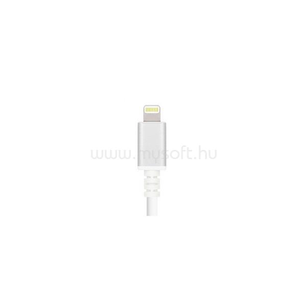 MAX MOBILE Smart Pack GC-46 iPhone 5/6/7/8/X fehér Lightning adatkábel
