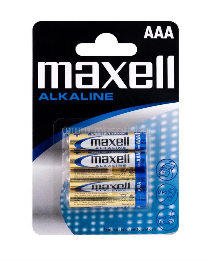 MAXELL Alkálielem Super LR-3 AAA 4db-os