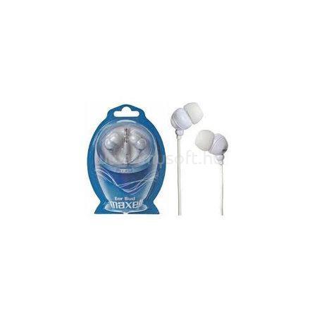 MAXELL fülhallgató PLUGZ 3.5mm Jack, fehér